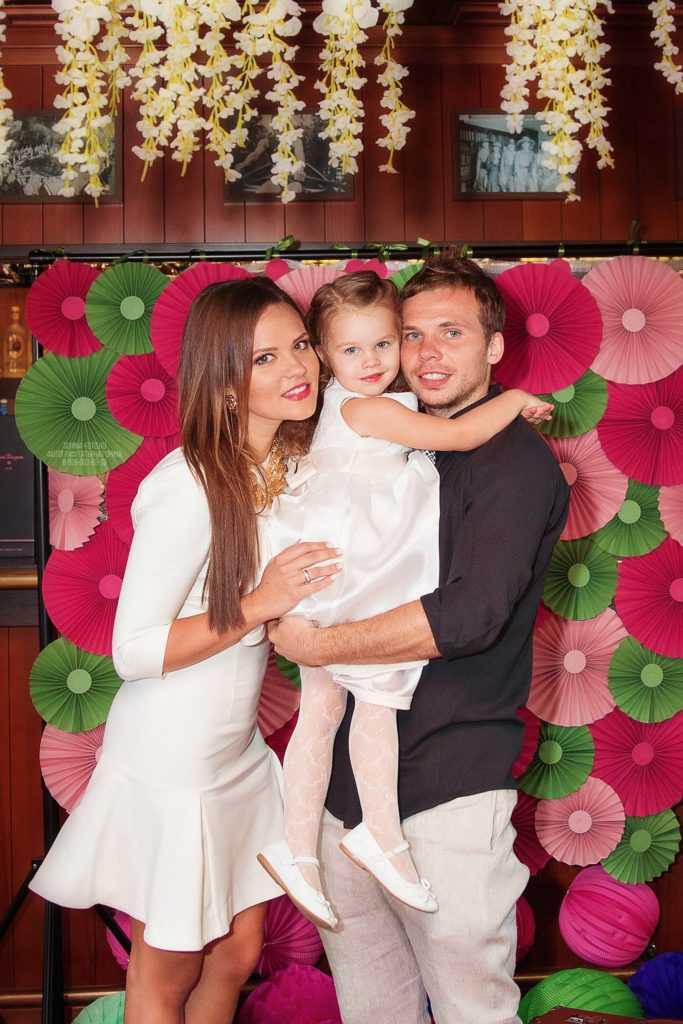 Фотосессия семьи с детского дня рождения.