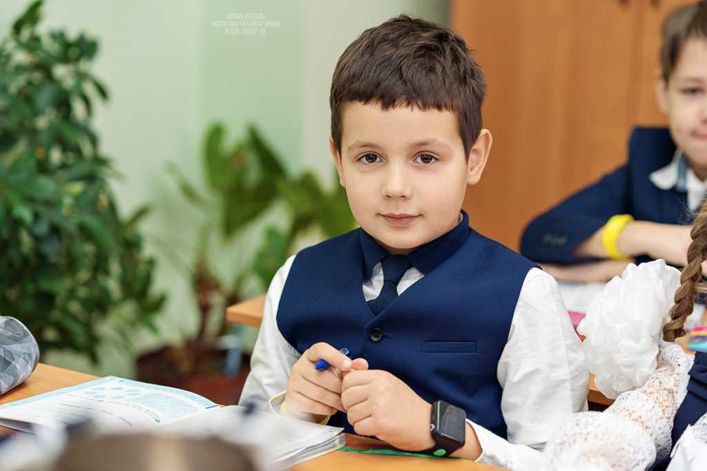 Школьники на фотосессии. Фотограф Татьяна Горина