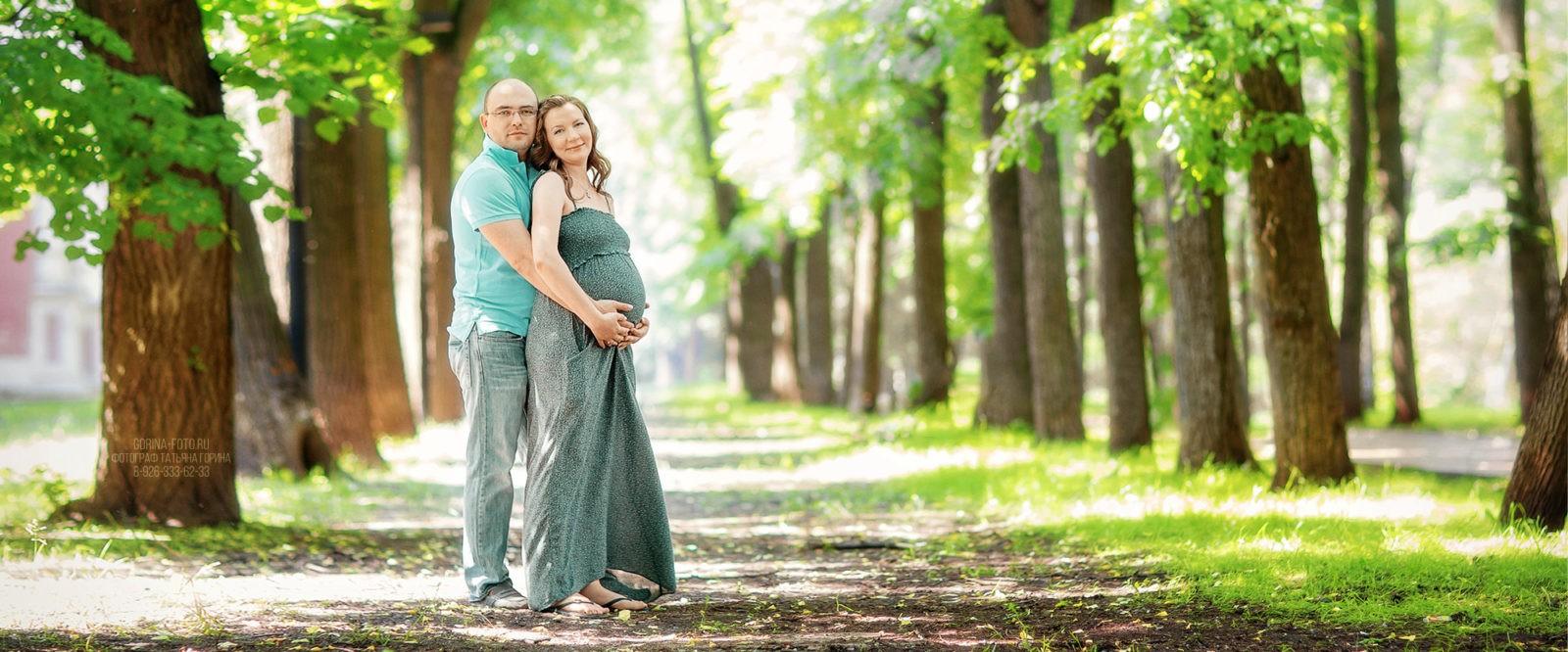 Семейная фотосессия беременности. Фотограф Татьяна Горина.