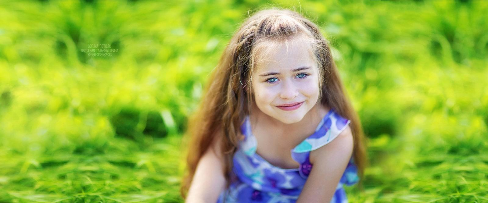 Детская фотосессия весной. Фотограф Татьяна Горина.