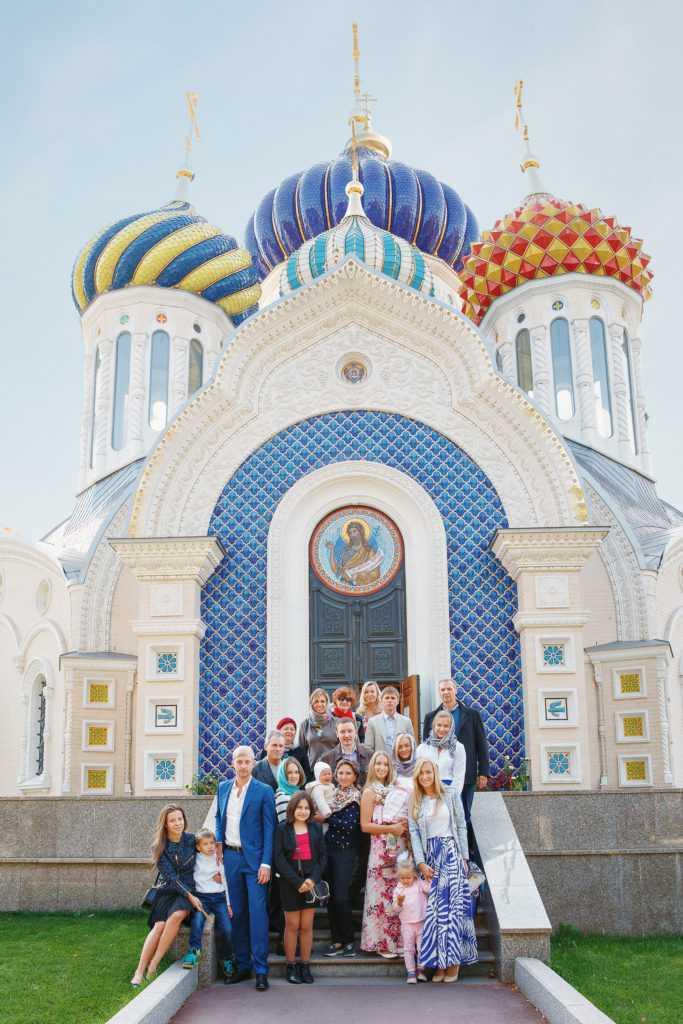 Общая фотография с крещения. Фотограф Татьяна Горина.
