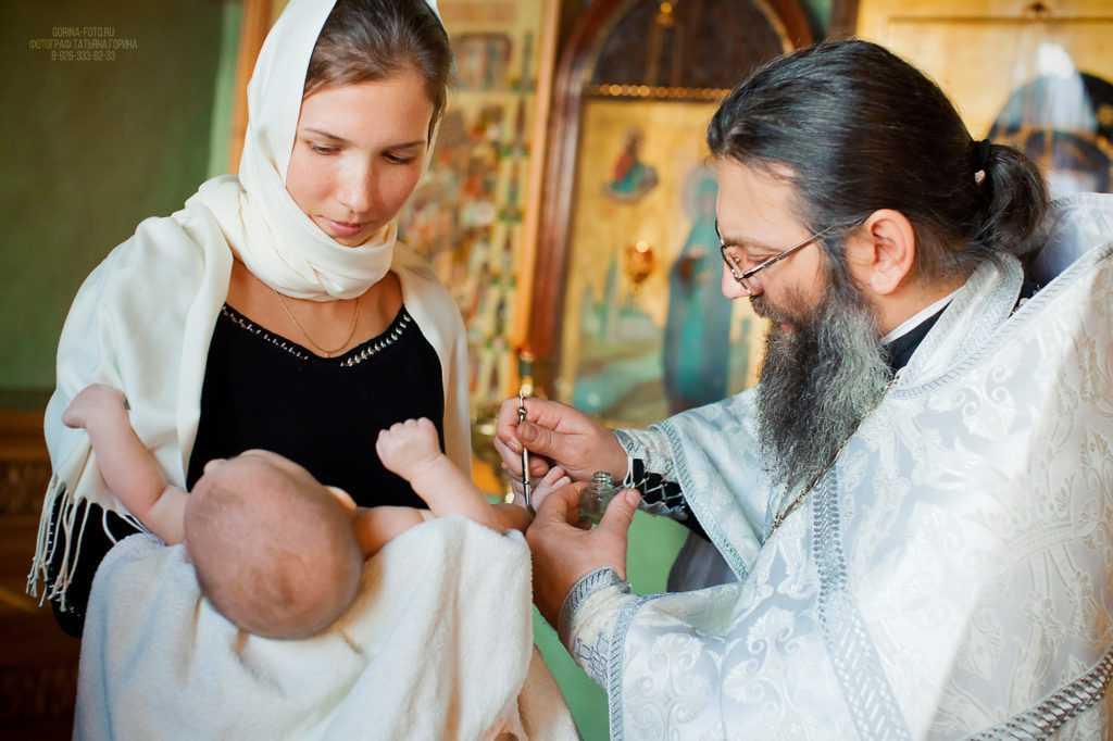 Фотография с детского крещения. Фотограф Татьяна Горина.