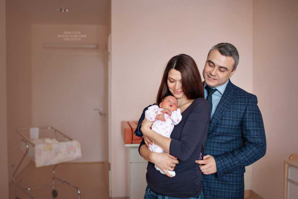 Фотосессия роддом. Фотограф Татьяна Горина.