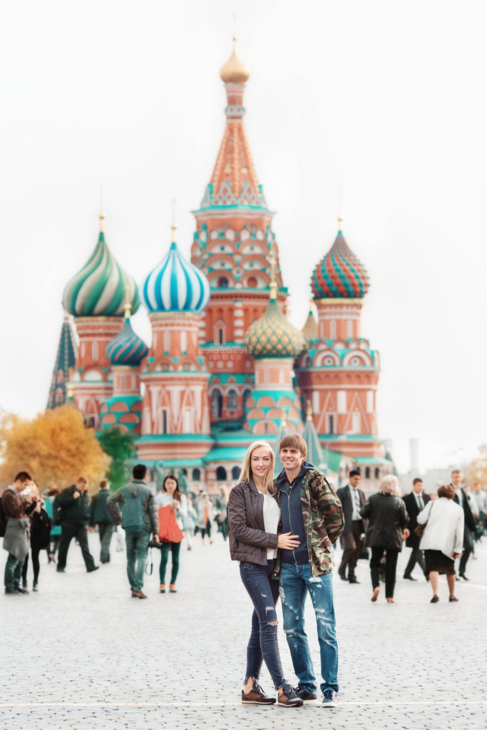 Семейная фотосессия в Москве. Фотограф Татьяна Горина.
