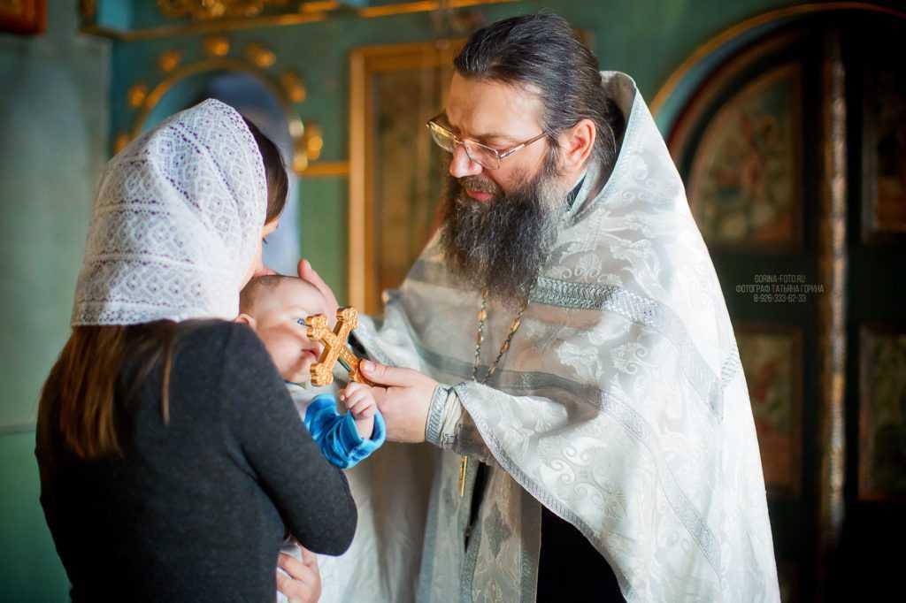 Фотосессия крещения. Фотограф Татьяна Горина